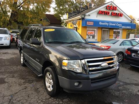 2007 Ford Expedition for sale at C & M Auto Sales in Detroit MI
