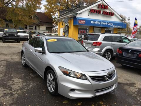 2011 Honda Accord for sale at C & M Auto Sales in Detroit MI