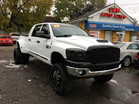 2008 Dodge Ram Pickup 2500 for sale at C & M Auto Sales in Detroit MI