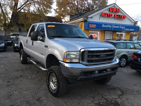 2003 Ford F-250 Super Duty for sale at C & M Auto Sales in Detroit MI