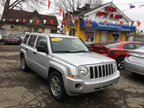 2008 Jeep Patriot for sale at C & M Auto Sales in Detroit MI