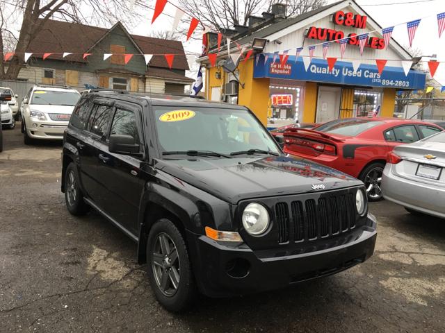 2009 Jeep Patriot for sale at C & M Auto Sales in Detroit MI