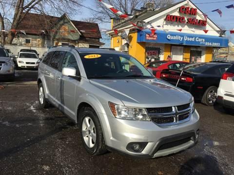 2012 Dodge Journey for sale at C & M Auto Sales in Detroit MI