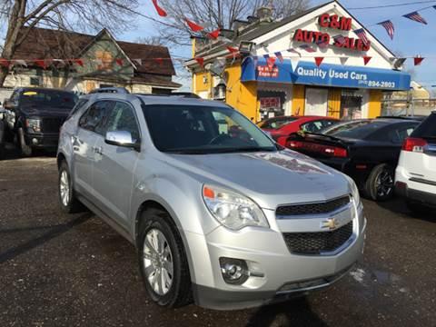 2010 Chevrolet Equinox for sale at C & M Auto Sales in Detroit MI