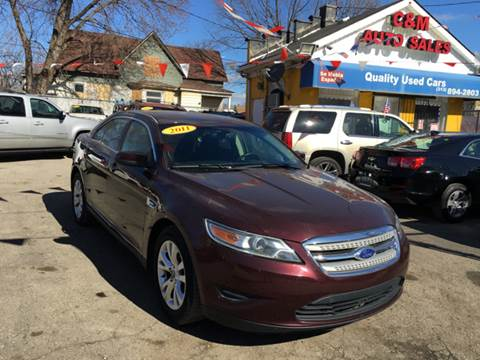 2011 Ford Taurus for sale at C & M Auto Sales in Detroit MI