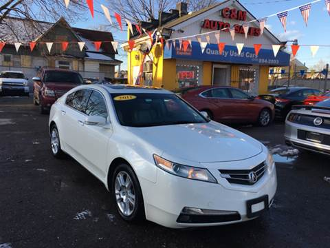 2011 Acura TL for sale at C & M Auto Sales in Detroit MI