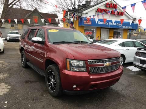2009 Chevrolet Tahoe for sale at C & M Auto Sales in Detroit MI