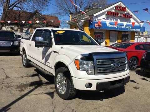 2011 Ford F-150 for sale at C & M Auto Sales in Detroit MI