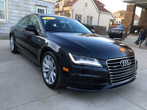 2012 Audi A7 for sale at C & M Auto Sales in Detroit MI