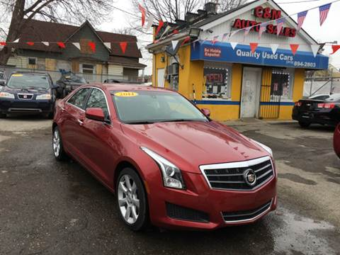 2014 Cadillac ATS for sale at C & M Auto Sales in Detroit MI