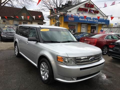 2010 Ford Flex for sale at C & M Auto Sales in Detroit MI