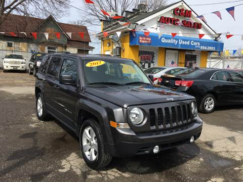 2017 Jeep Patriot for sale at C & M Auto Sales in Detroit MI