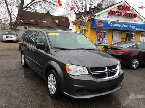 2015 Dodge Grand Caravan for sale at C & M Auto Sales in Detroit MI