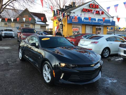 2016 Chevrolet Camaro for sale at C & M Auto Sales in Detroit MI