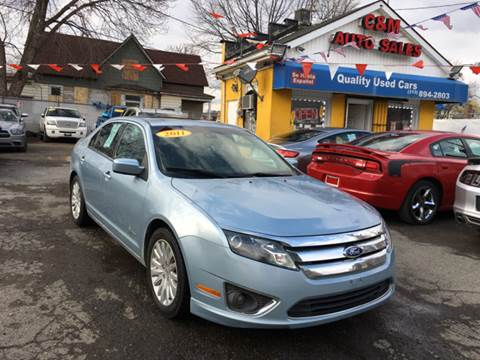 2011 Ford Fusion Hybrid for sale at C & M Auto Sales in Detroit MI