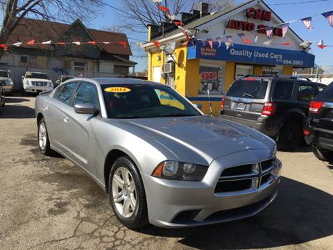 2014 Dodge Charger for sale at C & M Auto Sales in Detroit MI