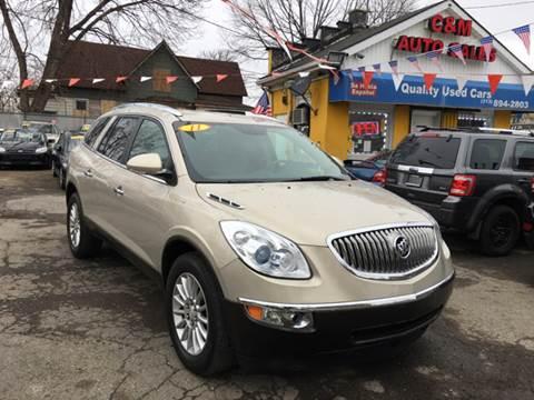 2011 Buick Enclave for sale at C & M Auto Sales in Detroit MI