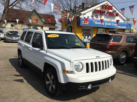 2016 Jeep Patriot for sale at C & M Auto Sales in Detroit MI