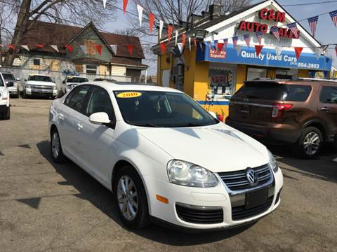 2010 Volkswagen Jetta for sale at C & M Auto Sales in Detroit MI