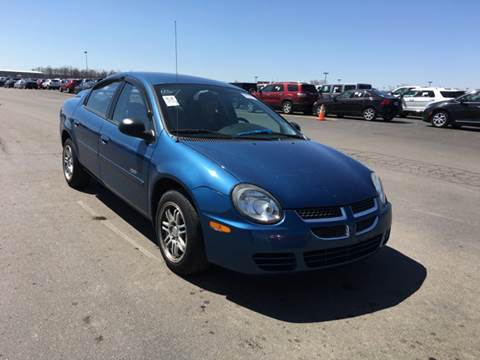 2003 Dodge Neon for sale at C & M Auto Sales in Detroit MI