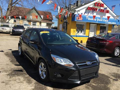 2013 Ford Focus for sale at C & M Auto Sales in Detroit MI