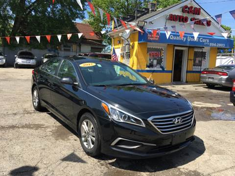 2017 Hyundai Sonata for sale at C & M Auto Sales in Detroit MI