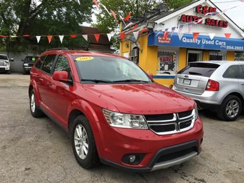 2013 Dodge Journey for sale at C & M Auto Sales in Detroit MI