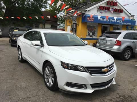 2016 Chevrolet Impala for sale at C & M Auto Sales in Detroit MI