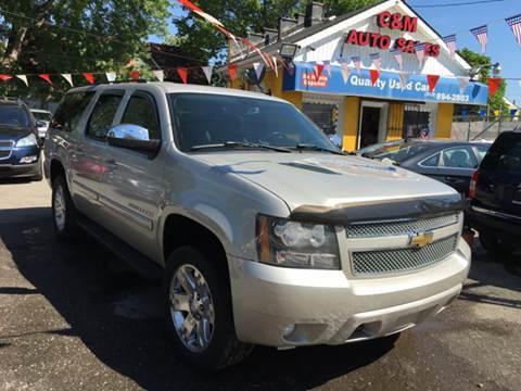 2008 Chevrolet Suburban for sale at C & M Auto Sales in Detroit MI