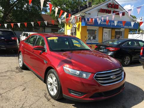 2013 Ford Taurus for sale at C & M Auto Sales in Detroit MI