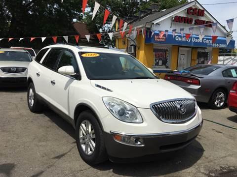 2009 Buick Enclave for sale at C & M Auto Sales in Detroit MI
