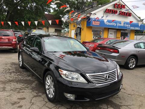 2010 Lexus LS 460 for sale at C & M Auto Sales in Detroit MI