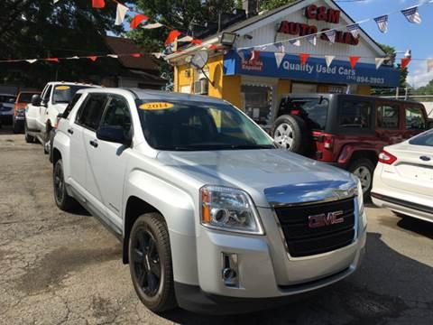 2014 GMC Terrain for sale at C & M Auto Sales in Detroit MI
