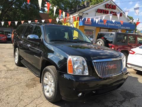 2008 GMC Yukon XL for sale at C & M Auto Sales in Detroit MI