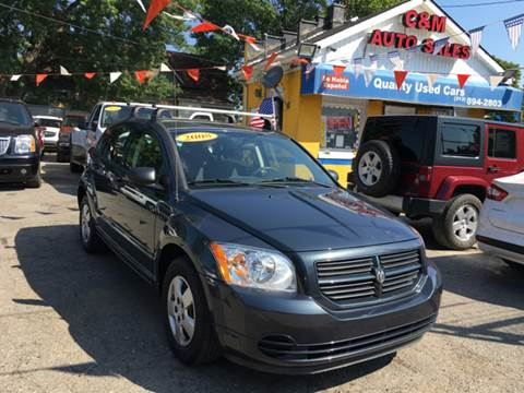 2008 Dodge Caliber for sale at C & M Auto Sales in Detroit MI