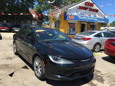 2015 Chrysler 200 for sale at C & M Auto Sales in Detroit MI