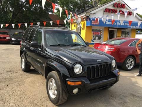2002 Jeep Liberty for sale at C & M Auto Sales in Detroit MI