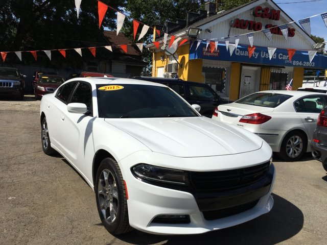 2015 Dodge Charger for sale at C & M Auto Sales in Detroit MI