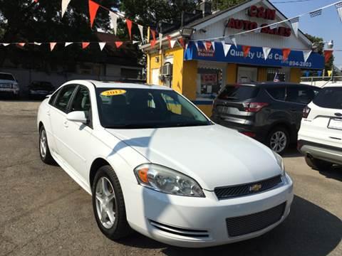 2012 Chevrolet Impala for sale at C & M Auto Sales in Detroit MI