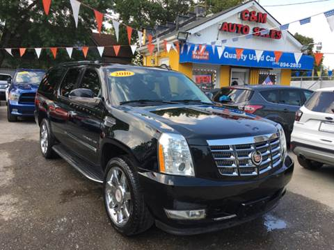 2010 Cadillac Escalade ESV for sale at C & M Auto Sales in Detroit MI