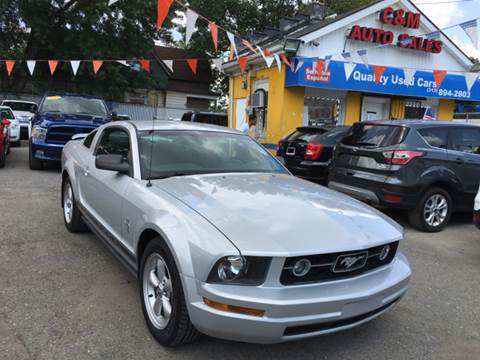 2006 Ford Mustang for sale at C & M Auto Sales in Detroit MI