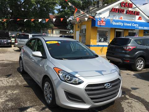 2017 Hyundai Elantra GT for sale at C & M Auto Sales in Detroit MI