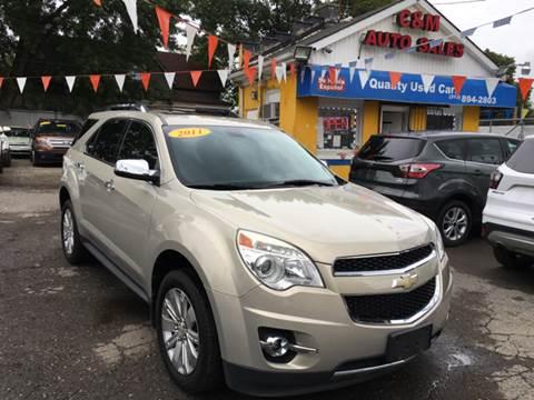 2011 Chevrolet Equinox for sale at C & M Auto Sales in Detroit MI