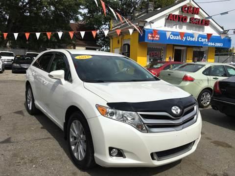 2015 Toyota Venza for sale at C & M Auto Sales in Detroit MI