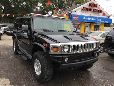 2004 HUMMER H2 for sale at C & M Auto Sales in Detroit MI