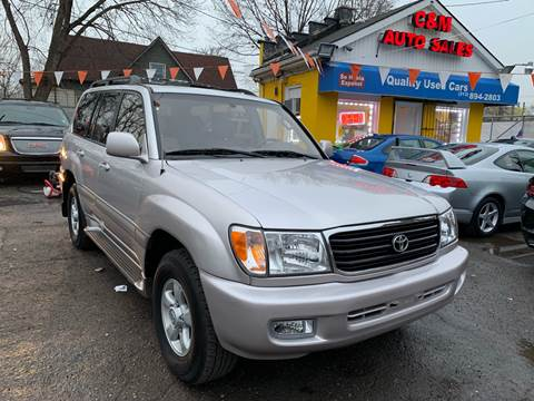 2000 Toyota Land Cruiser for sale in Detroit, MI