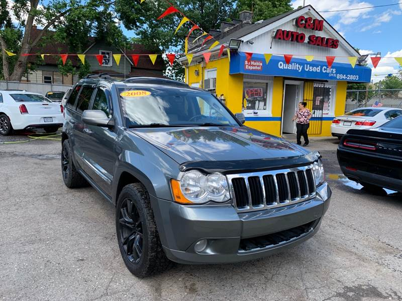 2008 Jeep Grand Cherokee Limited >> 2008 Jeep Grand Cherokee 4x4 Limited 4dr Suv In Detroit Mi
