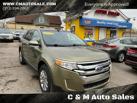 2012 Ford Edge for sale in Detroit, MI
