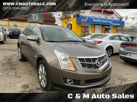 2012 Cadillac SRX Performance Collection for sale at C & M Auto Sales in Detroit MI