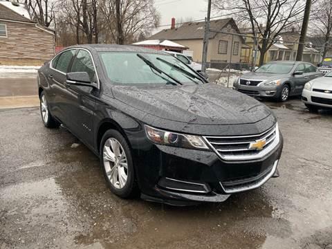 2015 Chevrolet Impala LT for sale at C & M Auto Sales in Detroit MI